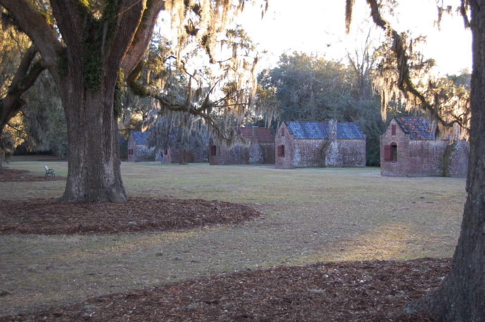 Boone Hall slave cabins