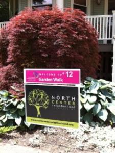 North Center garden Walk