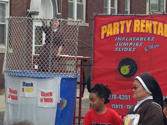 The Dunk-A-Nun Booth