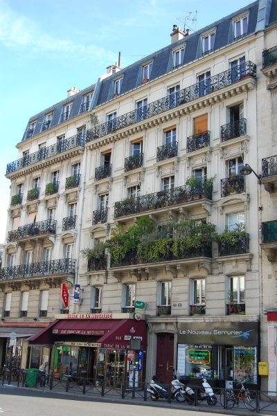 Paris balconies