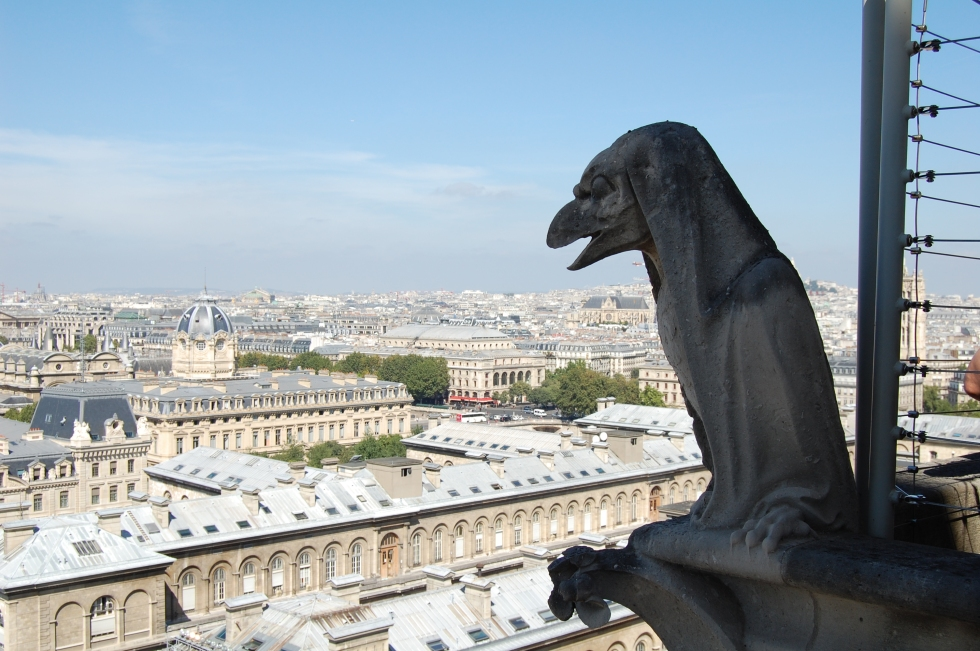 Notre Dame, Gargoyles