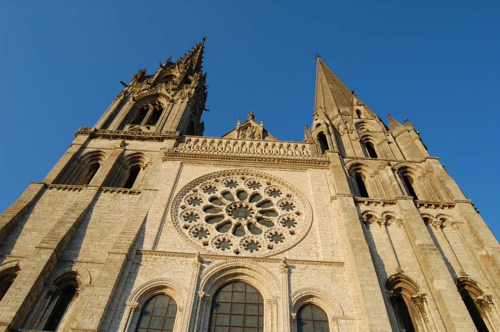 Chartres steeples