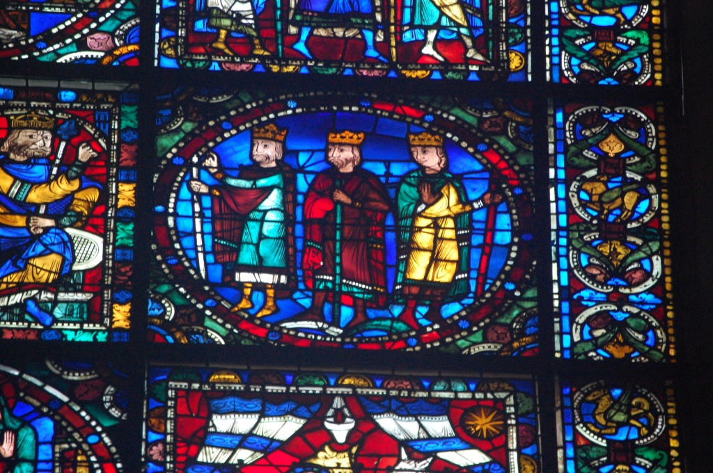 stained glass, chartres