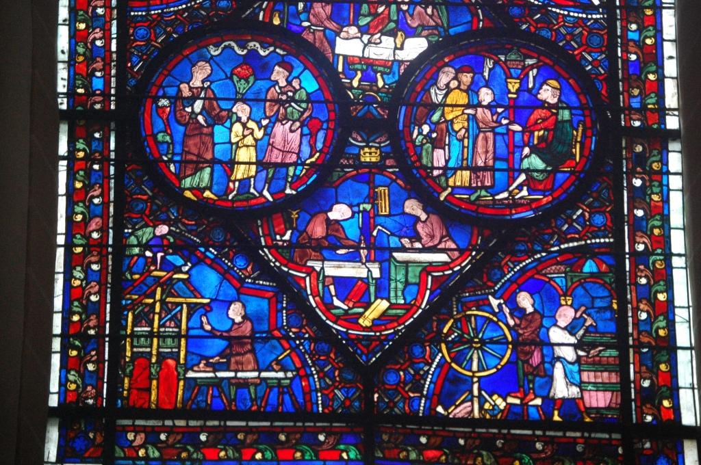 Medieval craftsmen: