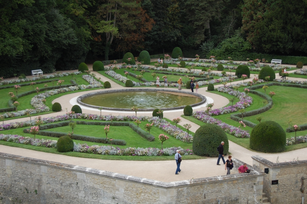 Catherine's garden at Chenonceau