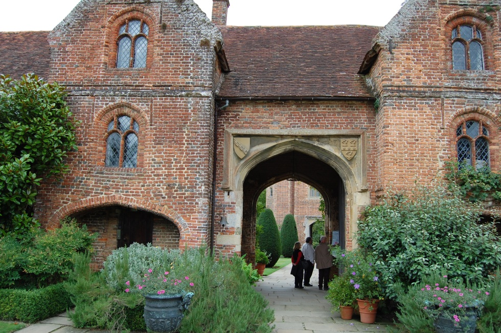 Entrance to Sissinghurst
