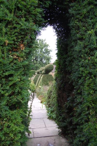 Entrance to the Peacock Garden