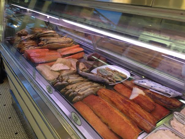 Russ and Daughters: now, that's a fish counter!