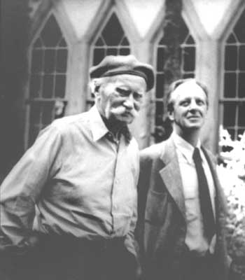 Jens Jensen and Alfred Caldwell. Source: Jensjensen.org