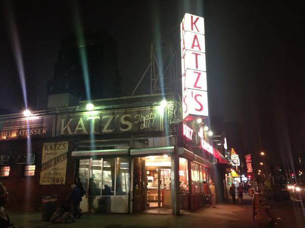 Katz's Deli, home of the best food in New York City.