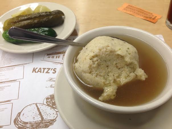 Matzoh Ball soup. Yum!