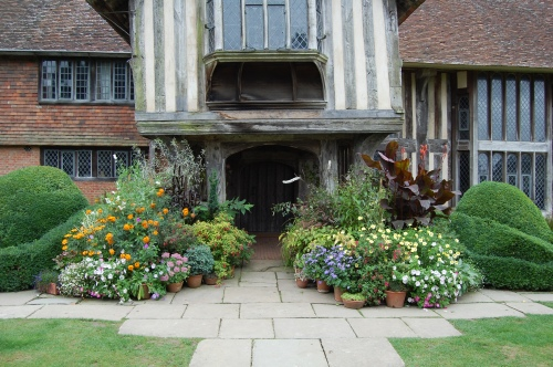 Two more container combinations at Great Dixter.