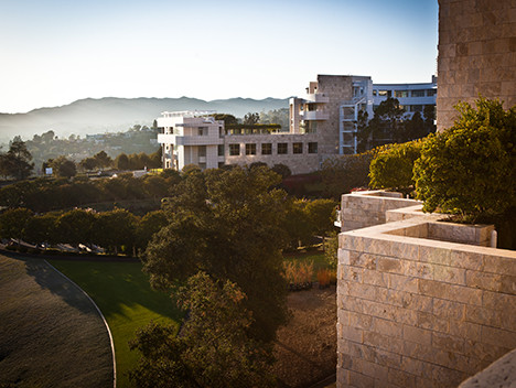 The Getty Center. Photo from discoverlosangeles.com