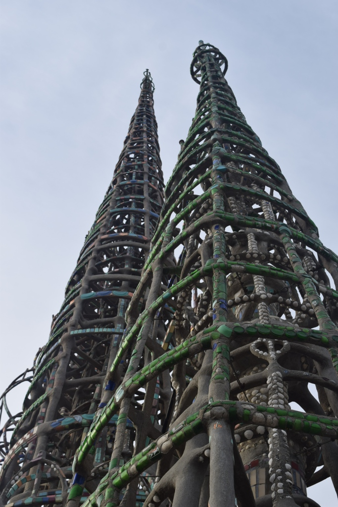 Ship masts or cathedral spires?