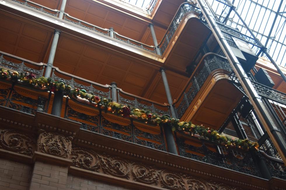 Inside the Bradbury