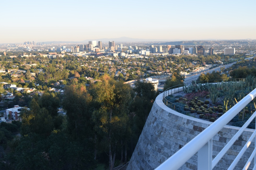 Los Angeles from the Getty Center.