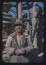 Simon Rodia. Photo from www.wattstowers.us.