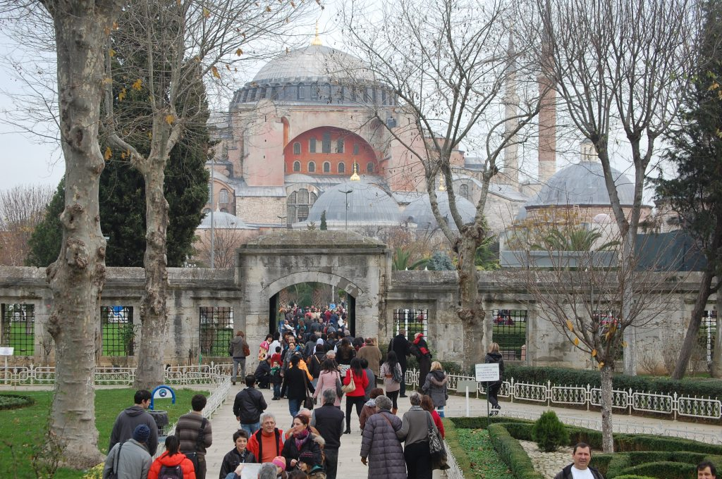 Entrance to Ayasofya.