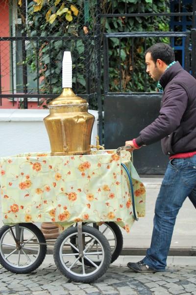 Tea vendor.