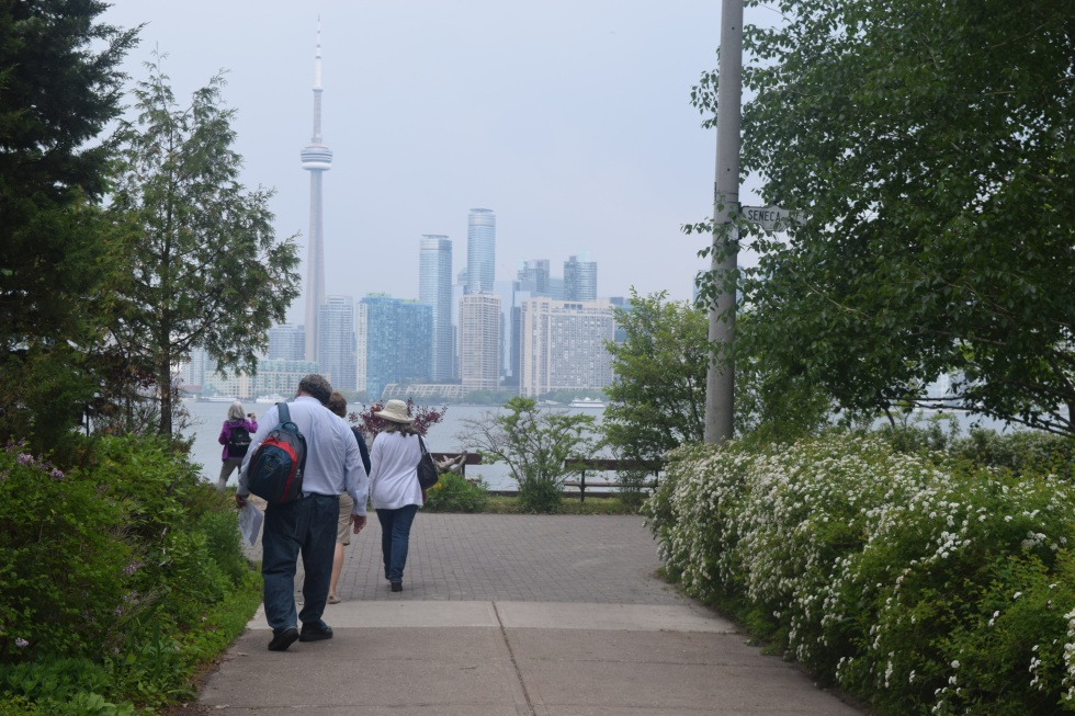 Downtown Toronto seen from Algonquin Island.
