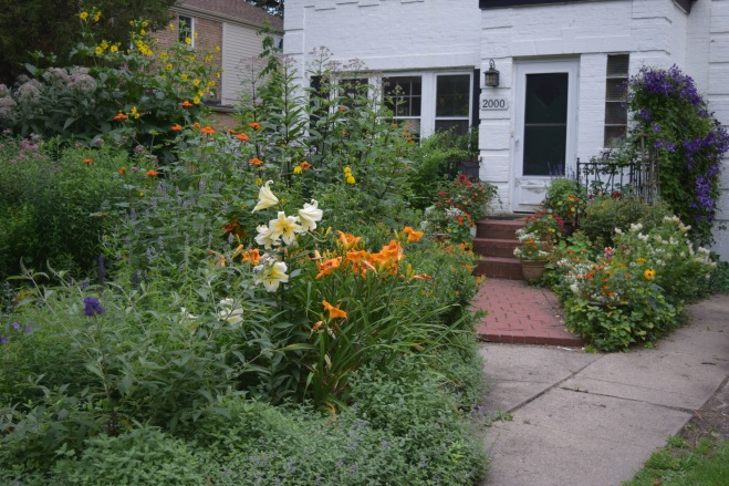Long view of the Driveway Border.
