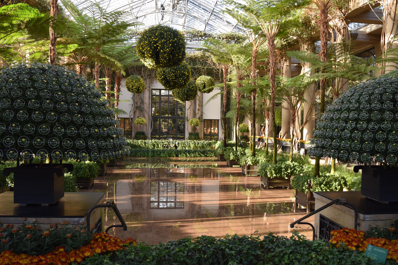 Longwood Gardens in October, Part III – The Conservatory – gardeninacity