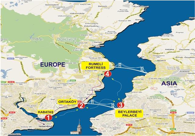 bosporus-T-2 Map