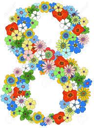 8 in flowers